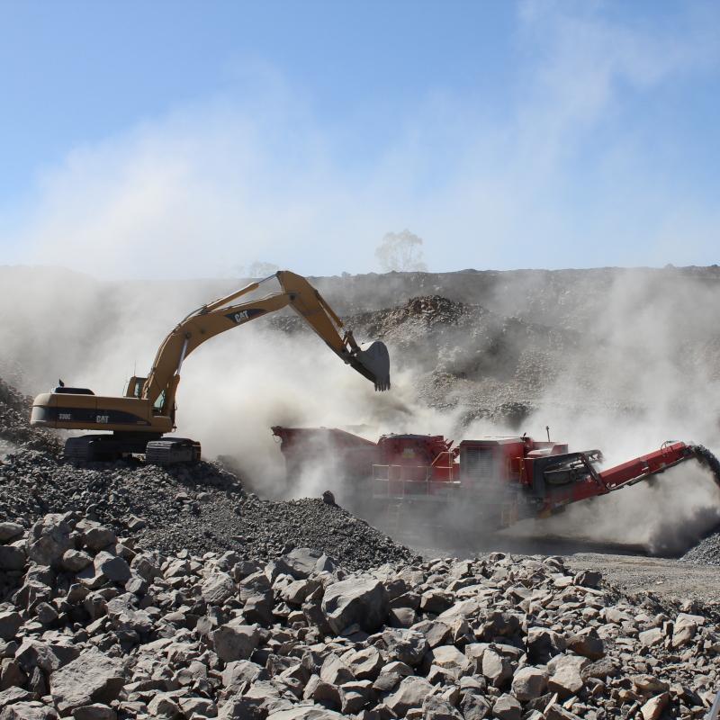 quarry dust monitoring